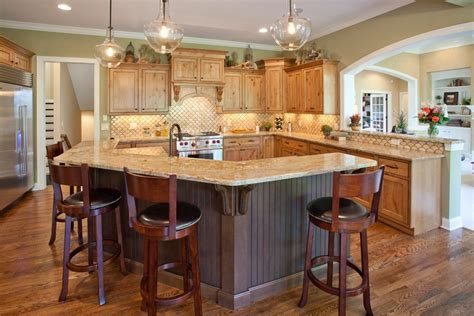 kitchen island shapes granite island shapes kitchen contemporary with waterfall