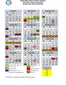 Dade County School Calendar Miami Dade Calendar School 2017 Free Calendar 2017