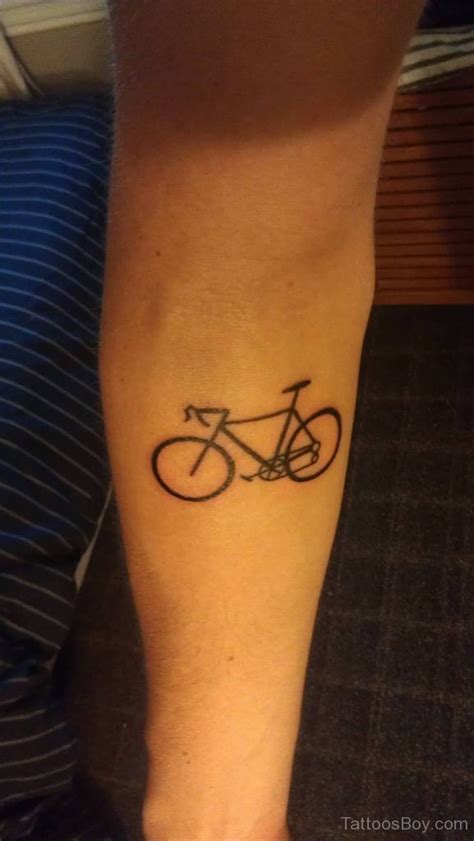 cycling tattoos bicycle tattoos designs pictures page 6