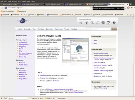 Mat Eclipse Plugin by Mat Memory Analyzer Tool