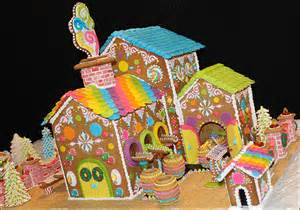 gingerbread house cookie tunnels tutorial