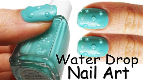 nail art tutorial using water nail art tutorial gocce di acqua water drop youtube