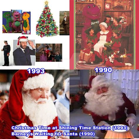 barney and the backyard gang christmas two christmas videos got inspired by chainspellxx7 on