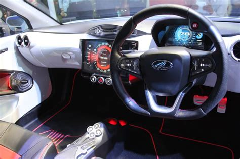 Reva Interior by Mahindra Rolls Out Halo Electric Sports Car Concept At
