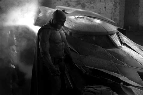 Batman News by Look At Ben Affleck As Batman New Batmobile