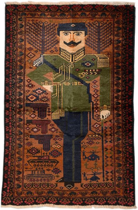 afghan war rugs from combat to carpet the strange story of afghan war rugs artnews