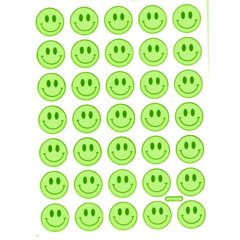 Smileys Als Aufkleber by Stickerbogen Smiley Glitzer Sticker