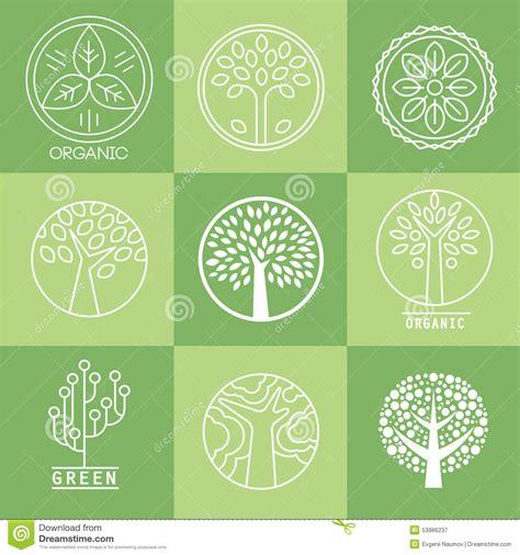 Tree Collection Of Design Elements Stock Vector Illustration Of Botany Decorative 53986237 Tree Collection Of Design Elements Stock Vector Illustration Of Icon Botany 32428346