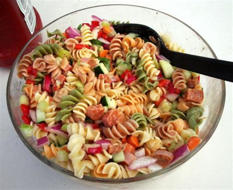 cold pasta salad with italian dressing italian pasta salad recipe food com