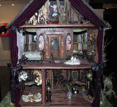 haunted doll houses copro nason quot the haunted dollhouse quot group show