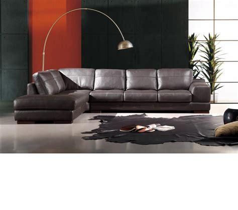italia leather sofa dreamfurniture italia leather 260 sectional