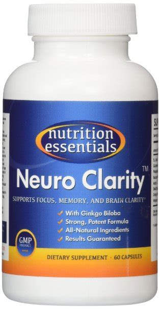 Neuro Detox by Nutrition Essentials Neuro Clarity My Go Healthy