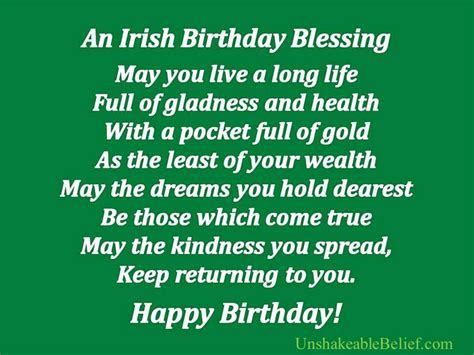 And Birthday Quotes St Patrick Day Wishes Quotes Sayings Toast Irish Blessing