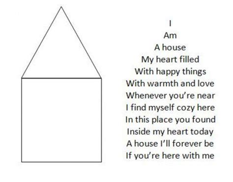 how to write shape poetry letterpile