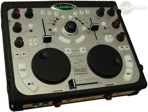 dj console hercules dj console mk1 controllers midi gearbase