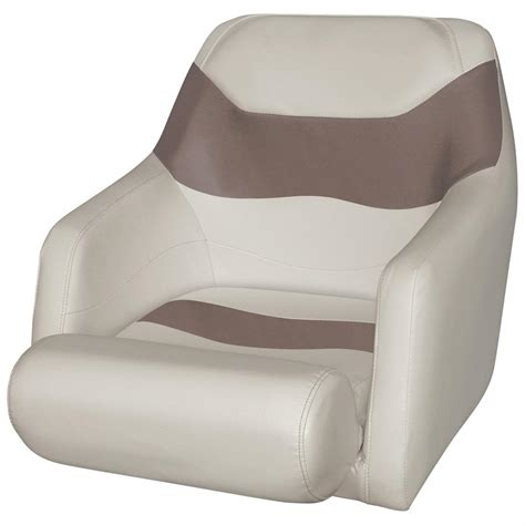 boat seat folding bolster wise 174 cruiser run a bout ski boat bucket seat with