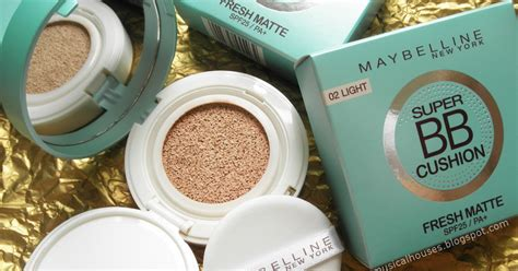 Maybelline Bb Cushion Fresh Matte Aqua Isi 1 Pcs Murah maybelline bb cushion fresh matte spf25 review and ingredients analysis of faces and fingers