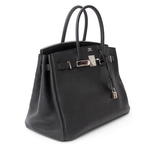 Hermes Black hermes black clemence 35cm birkin bag ghw best hermes