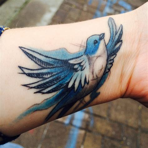 bluebird tattoo blue bird for