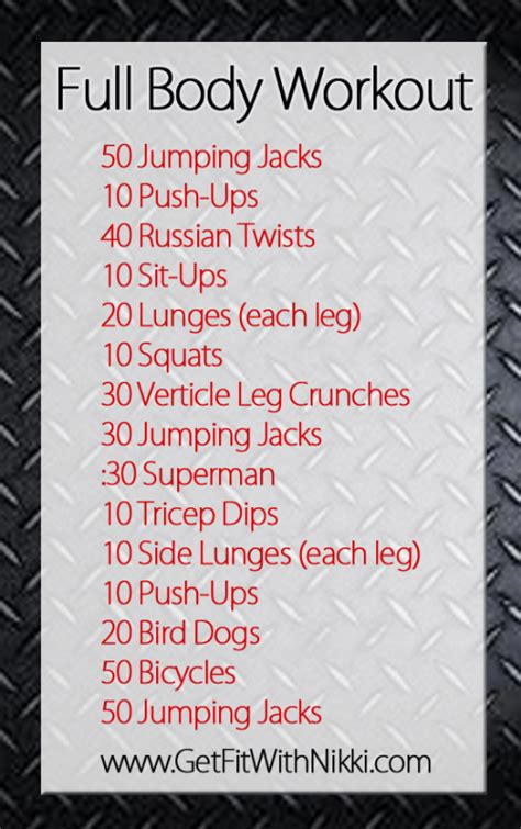 quick bedroom workout full body workout routine with weights what is cottage