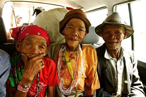 namibian tribal members