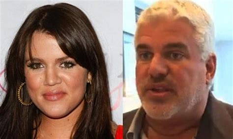 khloe kardashian and her real father hollywood dirt is kris jenner s hairstylist khloe s real