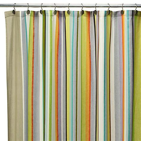 cabana stripe shower curtain cabana stripe 72 quot x 72 quot fabric shower curtain bed bath