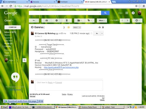 membuat website hacker cara membuat web phising garena nb hacker free