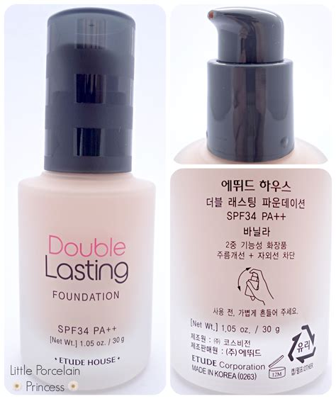 Foundation Etude Porcelain Princess Review Etude House