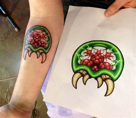 metroid tattoo metroid modifications and tatting