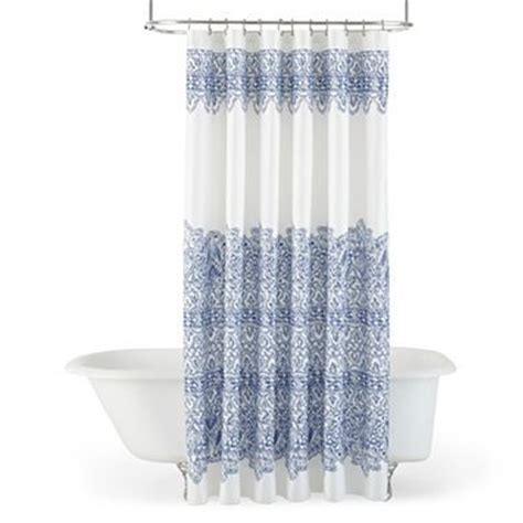 jcpenny shower curtains jcp home collection jcpenney home ming shower curtain