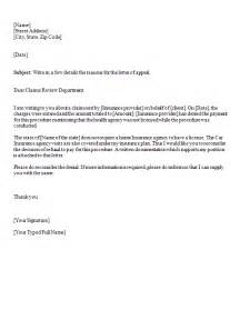 appeal template letter appeal letter template