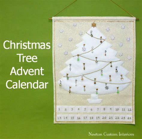 pattern for christmas tree advent calendar free sewing pattern christmas tree advent calendar