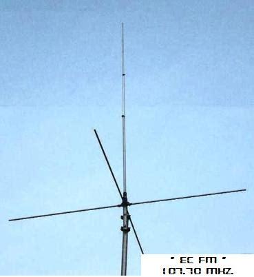 Antena Vertikal Radio Komunitas Pendidikan Quot Ec Fm Quot 107 70 Mhz Desember 2011