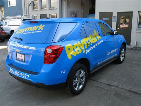 Raymark Plumbing by Seattle Signs