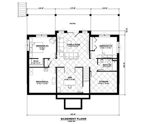 Tamarack Floor Plans the tamarack log home floor plan everlog systems