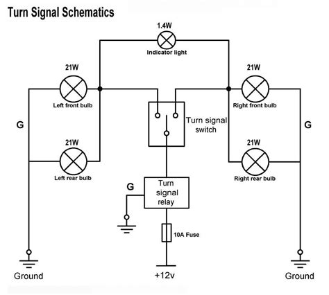 turn signal wiring diagrams get free image about wiring