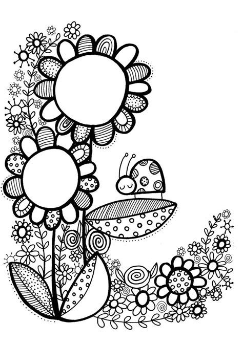 doodle drawing style 25 best ideas about doodle flowers on doodle