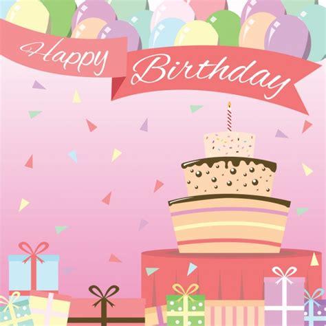 background design birthday birthday background design vector free download