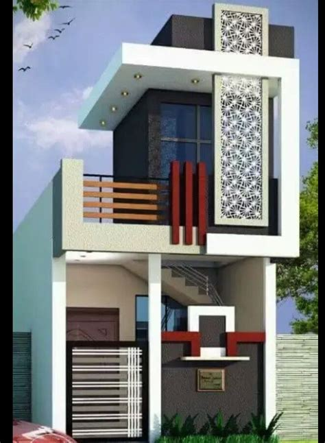 single floor elevation modern house plans house floor