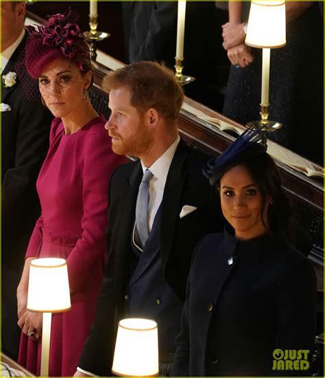 kate middleton joins prince william  princess eugenies