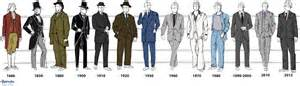 Modern suit jacket however black tie and tuxedos proved most popular