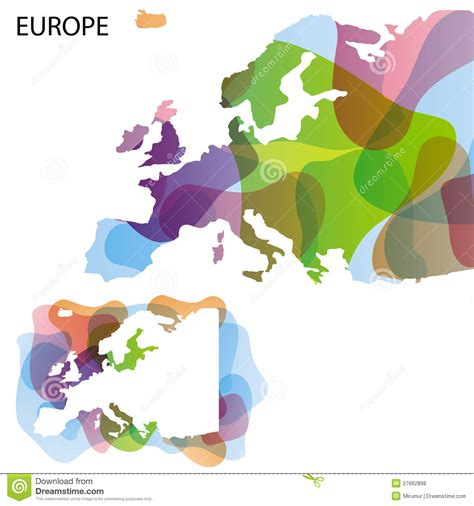 design a map free design map of europe stock vector image of clean eps10