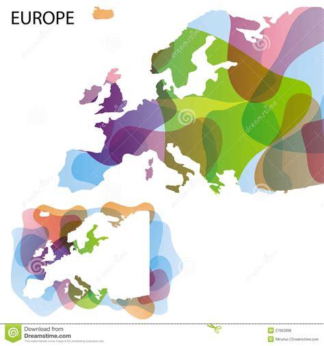 Design Map Of Europe Royalty Free Stock Photos   Image: 27662898