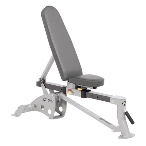 hoist adjustable bench hoist fitness hf 4167 fold up flat to incline bench treadmill outlet bay area