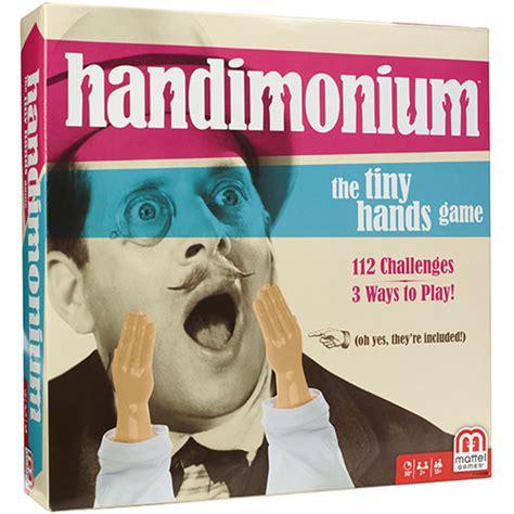 handimonium mattel games