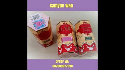 Penggemuk Badan Samyun Wan samyun wan pil herbal penggemuk badan asli wa 087889677396