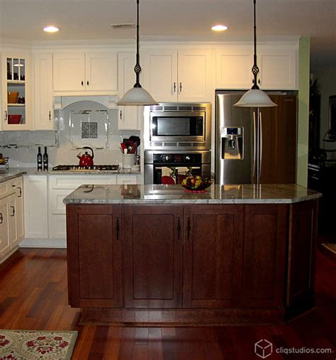 Cherry And White Kitchen Cabinets by White And Cherry Kitchen Cabinets Mission Cabinetry