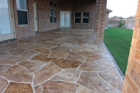 concrete patios designs ideas st louis mo imprinted concrete