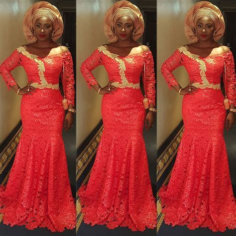 latest lace styles 2017 for owambe guests to blast perfect lace aso ebi gown styles for owambe party